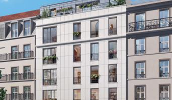 Paris programme immobilier neuf « Villa Simonet » en Nue Propriété