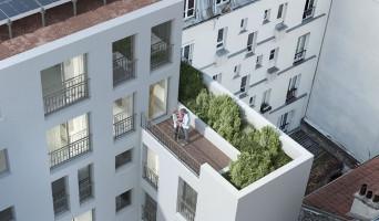 Paris programme immobilier neuve « Villa Simonet » en Nue Propriété  (2)