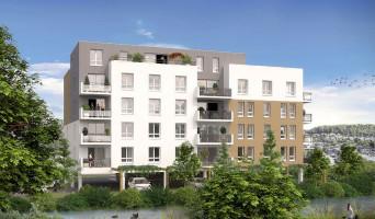 Maromme programme immobilier rénové « Au fil de l'O » en loi pinel