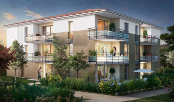 Lespinasse programme immobilier neuve « Canal Rive Gauche 2 »