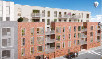Roubaix programme immobilier rénové « Pixel 2 » en loi pinel