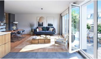 Noisy-le-Grand programme immobilier neuve « Villa Historia »  (2)