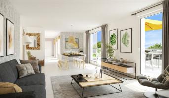 Caluire-et-Cuire programme immobilier neuve « Carré Ikebana »  (2)