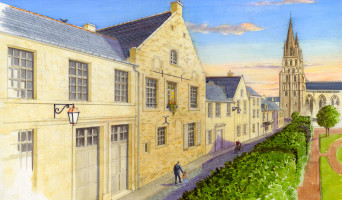 Bayeux programme immobilier rénové « La Maison des Anciens Marins »