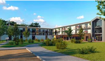 Saint-Paul-lès-Dax programme immobilier rénové « Les Girandières Soleil de Gascogne »