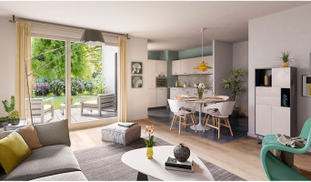 Schiltigheim programme immobilier neuve « Follement Schilick Bât. H » en Loi Pinel  (4)