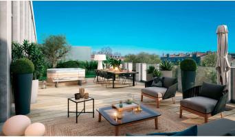 Bordeaux programme immobilier neuve « Eterna » en Loi Pinel