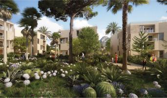 Hyères programme immobilier rénové « Le Versant des Roches » en loi pinel