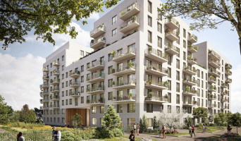 Rouen programme immobilier rénové « Arborescence » en loi pinel