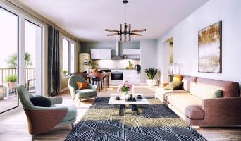 Rouen programme immobilier neuve « Arborescence » en Loi Pinel  (3)