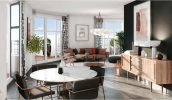 Le Blanc-Mesnil programme immobilier neuve « Le 122 Aéropostale » en Loi Pinel  (3)