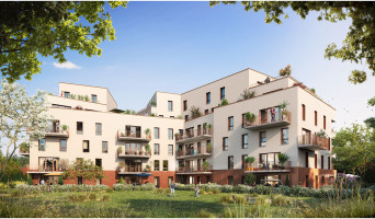 Haubourdin programme immobilier neuf « Rive Gauche » en Loi Pinel
