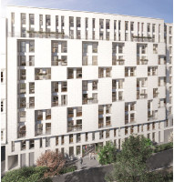Clichy programme immobilier neuve « Stud'In Rose Guérin »