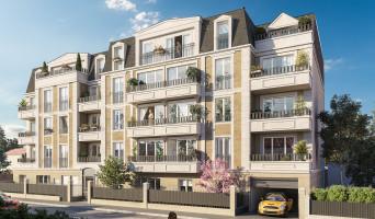 Gagny programme immobilier rénové « Villa du Chénay » en loi pinel