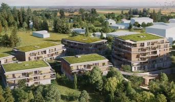 Saint-Genis-Pouilly programme immobilier rénové « L'Archipel 2 » en loi pinel