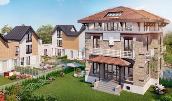 Saint-Maur-des-Fossés programme immobilier rénové « Domaine Albert 1er - Villas » en loi pinel