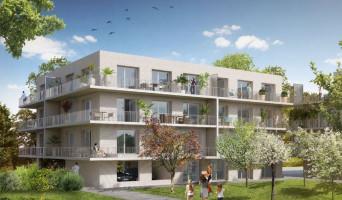 Amiens programme immobilier rénové « Garden District 2 » en loi pinel