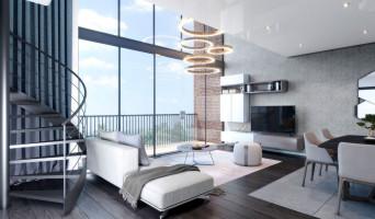 Saint-André-lez-Lille programme immobilier rénové « Le domaine d'Hestia - Villa Cronos » en loi pinel