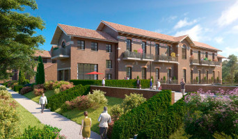 Saint-André-lez-Lille programme immobilier rénové « Le Domaine d'Hestia - Villa Héra » en loi pinel