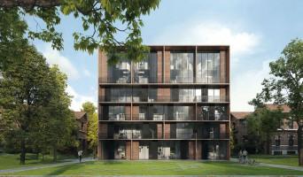 Saint-André-lez-Lille programme immobilier neuve « Le Domaine d'Hestia - Villa Rhéa » en Loi Pinel