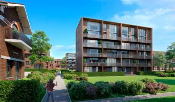 Saint-André-lez-Lille programme immobilier neuve « Le Domaine d'Hestia - Villa Rhéa » en Loi Pinel  (3)