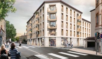 Lyon programme immobilier rénové « Faubourg Valmy » en loi pinel