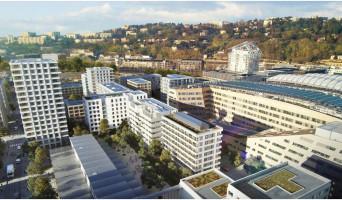 Lyon programme immobilier rénové « Albizzia » en loi pinel