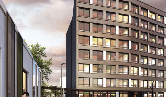 Villeneuve-d'Ascq programme immobilier rénové « Résidence Trémière 2 » en loi pinel