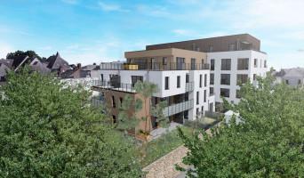 Angers programme immobilier neuf « Jardin sur Cour