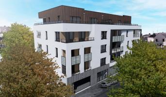 Angers programme immobilier neuve « Jardin sur Cour » en Loi Pinel  (2)