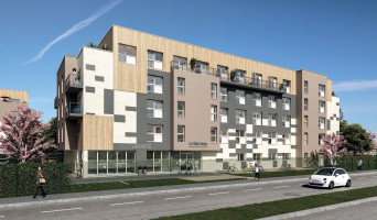Poitiers programme immobilier neuve « Convergence & Aparté »