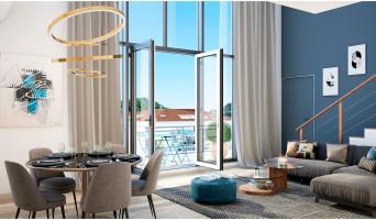 Gagny programme immobilier neuve « Embellia » en Loi Pinel  (2)