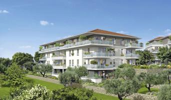 Grasse programme immobilier neuve « Le Parc » en Loi Pinel