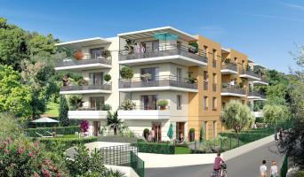 Nice programme immobilier rénové « Villa Flora » en loi pinel