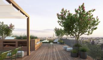 Bordeaux programme immobilier rénové « Skyline » en loi pinel
