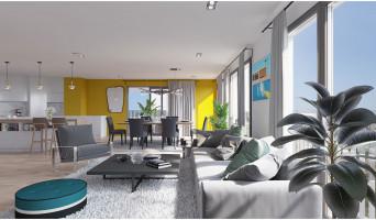 Bordeaux programme immobilier neuve « Skyline » en Loi Pinel  (3)
