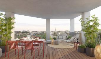 Bordeaux programme immobilier neuve « Skyline » en Loi Pinel  (4)