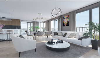Bordeaux programme immobilier neuve « Skyline » en Loi Pinel  (5)
