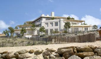Lacanau programme immobilier rénové « L'Oyat »