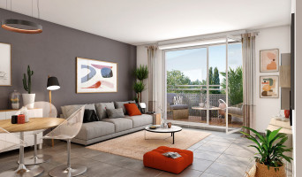 Pontault-Combault programme immobilier neuve « Le Sisley » en Loi Pinel  (3)