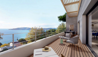 Toulon programme immobilier rénové « Bleu Calade » en loi pinel