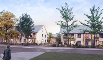 Serris programme immobilier neuve « L'Heure Bleue » en Loi Pinel  (2)