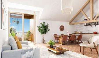 Serris programme immobilier neuve « L'Heure Bleue » en Loi Pinel  (5)
