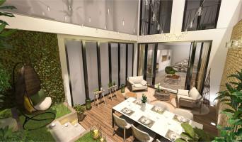 Paris programme immobilier neuve « Le Triptyque »  (2)