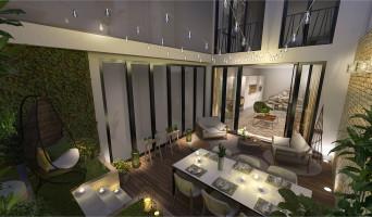 Paris programme immobilier neuve « Le Triptyque »  (4)