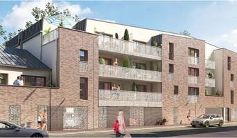 Roubaix programme immobilier neuve « Alcoves » en Loi Pinel  (2)