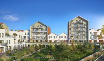 Dijon programme immobilier rénové « Reflets Jardin » en loi pinel