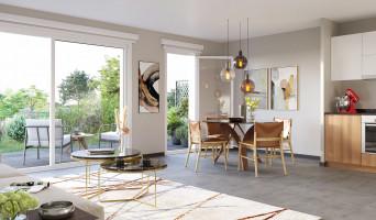 Dijon programme immobilier neuve « Reflets Jardin » en Loi Pinel  (2)