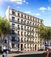 Marseille programme immobilier neuf « Les Balcons de Massalia » en Nue Propriété