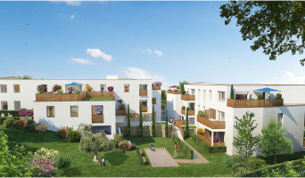 Saint-Herblain programme immobilier neuve « Carré de Flore » en Loi Pinel  (2)
